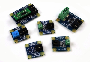 A selection of sensors with linear output