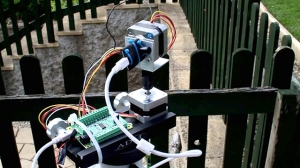 Temperature Sensor IR in an outdoor installation