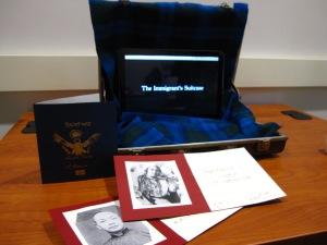 Immigrant's Suitcase Interactive Exhibit