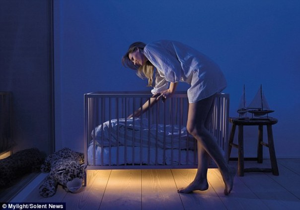 Bed Light Brings Light To A Dark Room Just When Needed