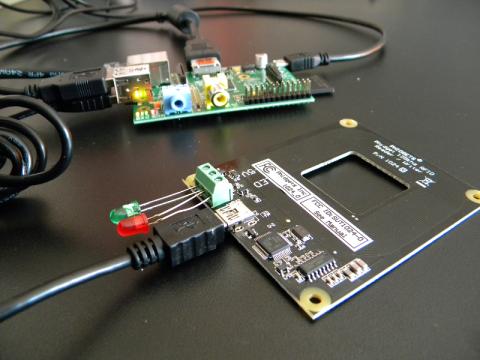 Raspberry Pi Phidgets RFID