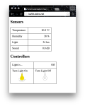 Home Automation Website